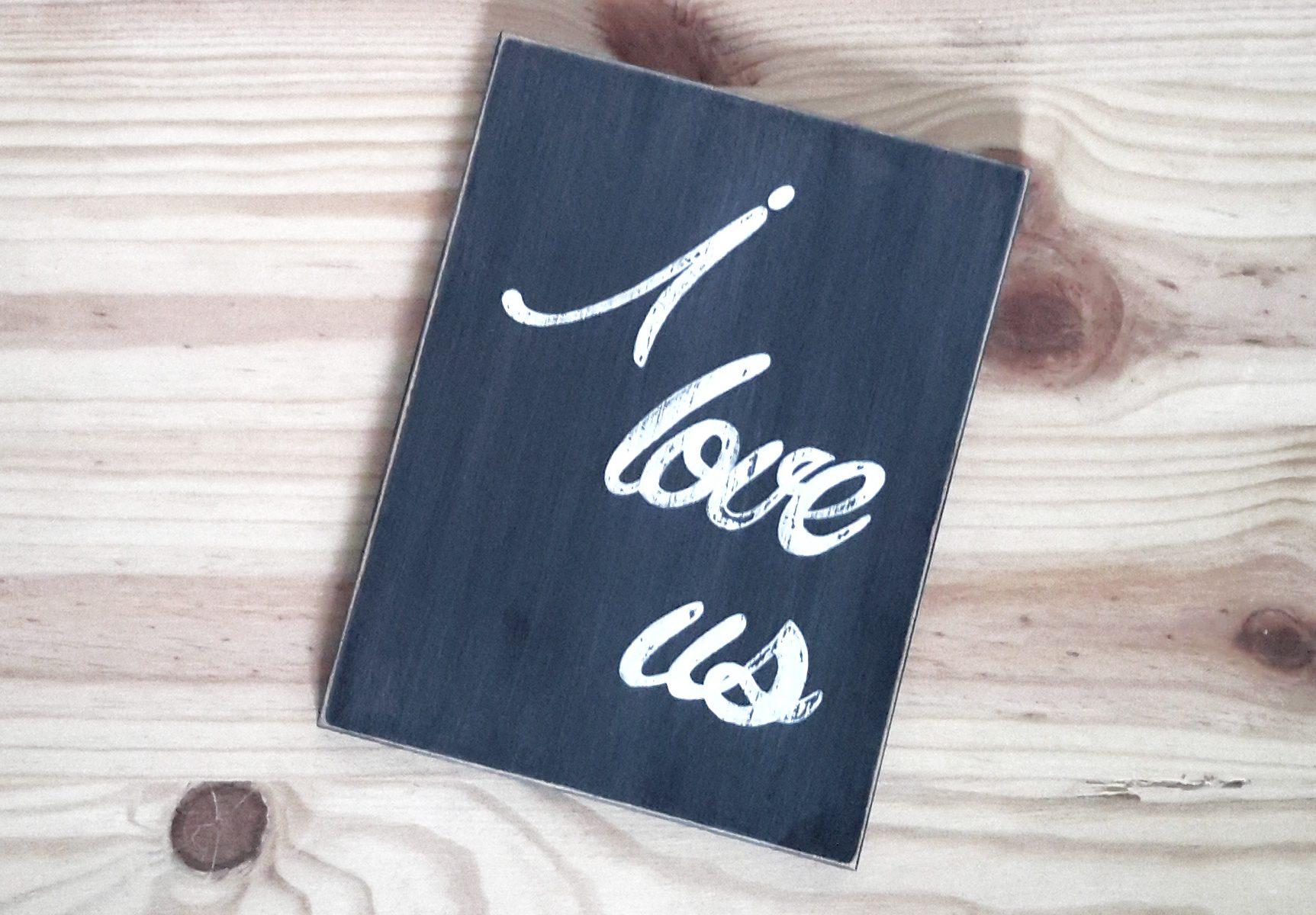 Tableau I love us