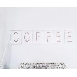 coffe lettres decoratives murales