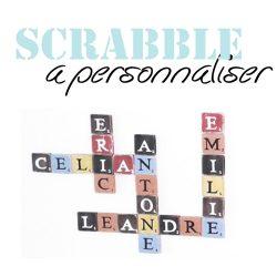 Scrabble les Lettres à personnaliser