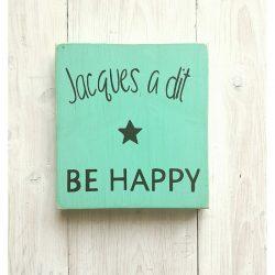 tableau jacques a dit be happy