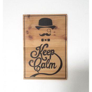 Keep Calm gentleman