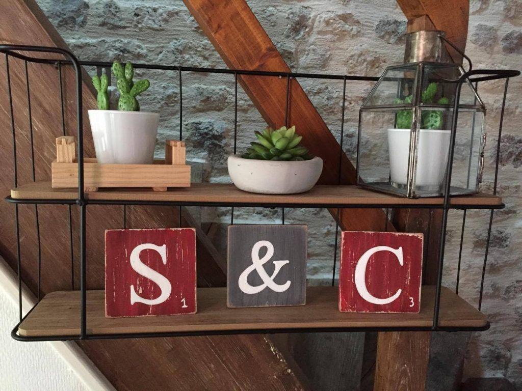 ExpressionDéco conception et réalisation de lettres en bois