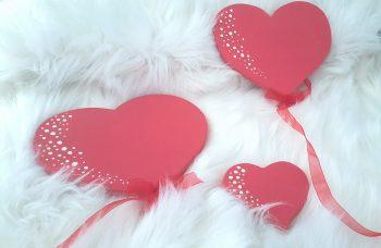 Cœurs ballons