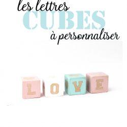 Lettres cubes