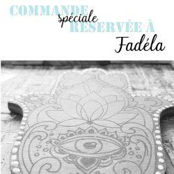 Amulette Réservée à Fadela