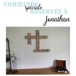Pour Jonathan