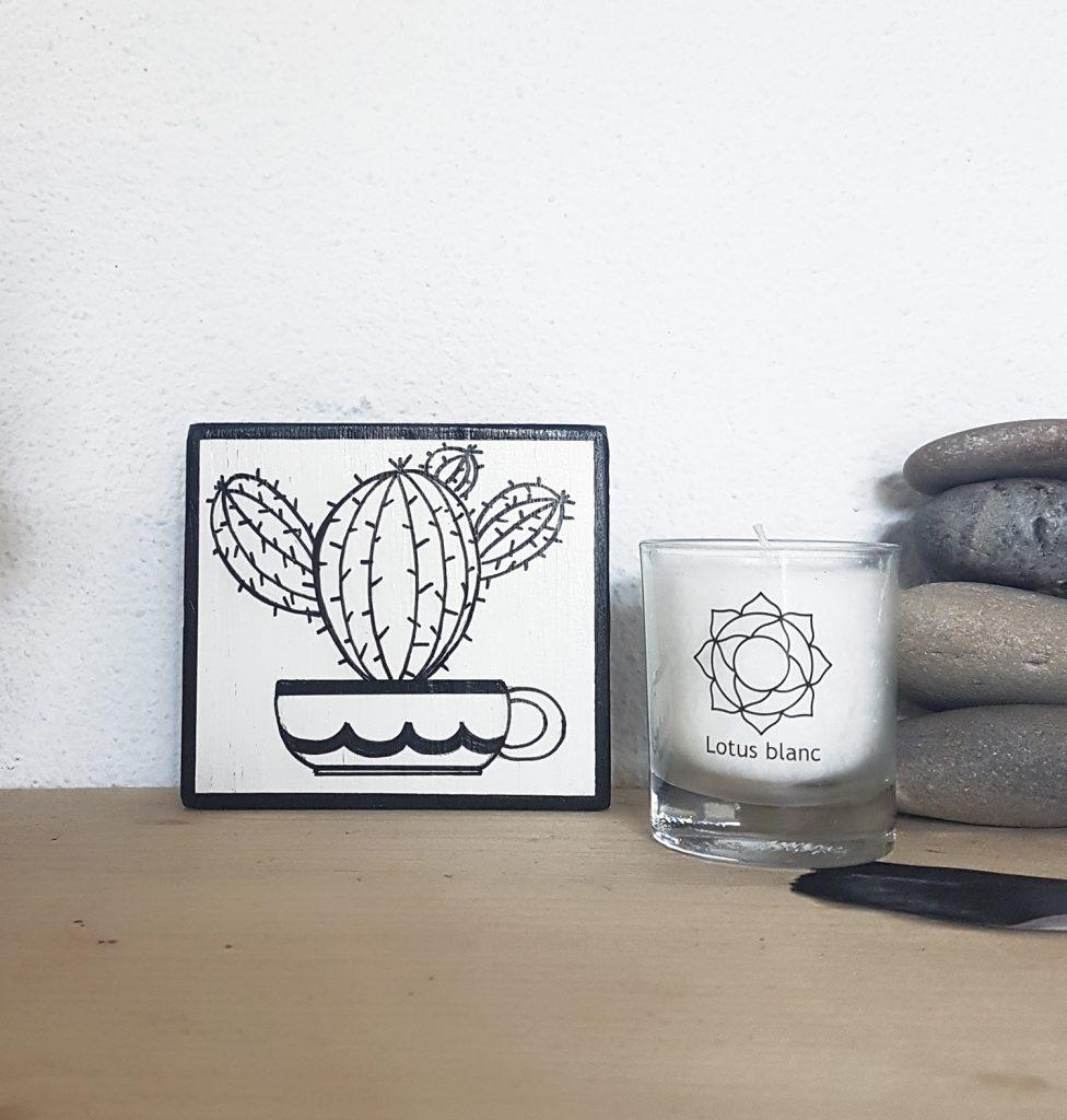 Totem cactus Backer
