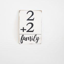Tableau Family 2+2