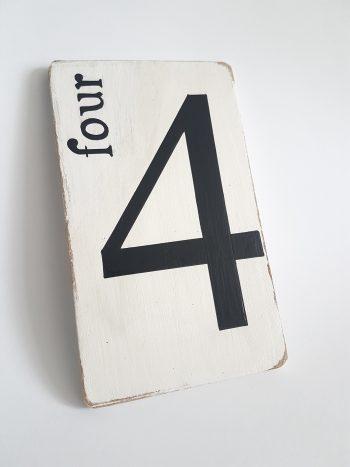 Four 4 Blanc